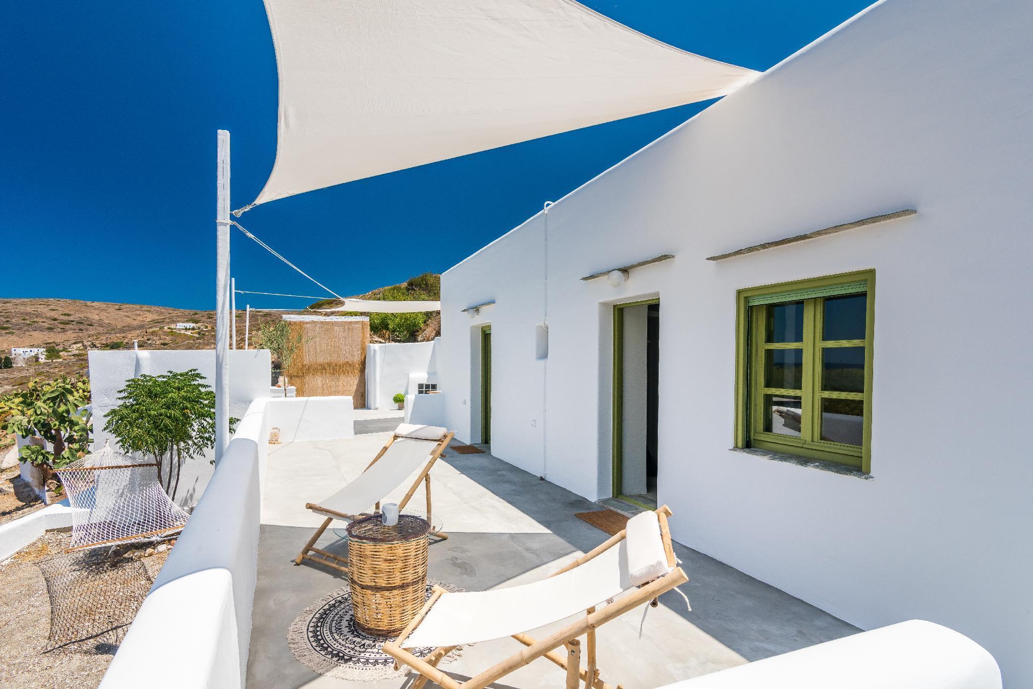 A Totally Peaceful Cycladic Farm House