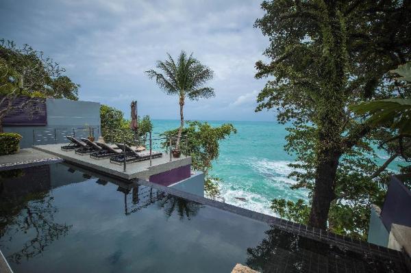 Surin 4 rm super Seaview Cliff Villa infinite pool Phuket