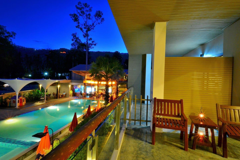 Deluxe Room (Abf) By Chaweng Noi Pool Villa1 1 ห้องนอน 1 ห้องน้ำส่วนตัว ขนาด 25 ตร.ม. – เฉวงน้อย