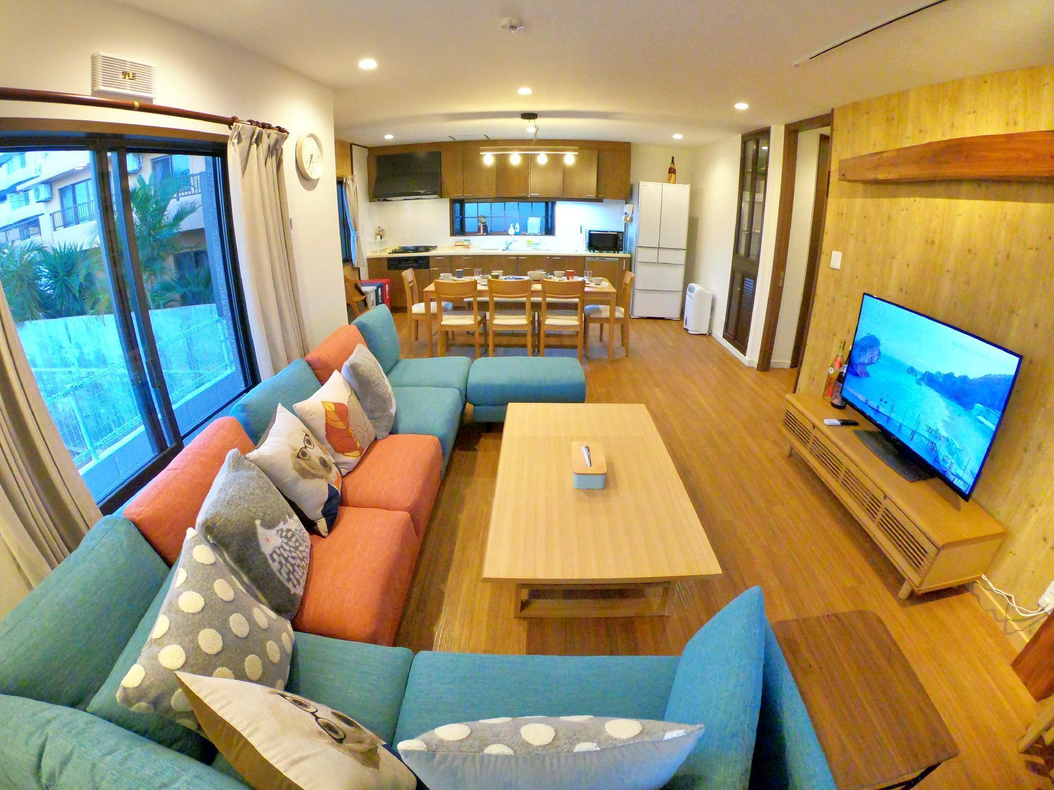 MARU HOUSE Sea View 5rooms3bath NETFLIX BBQ 18ppl