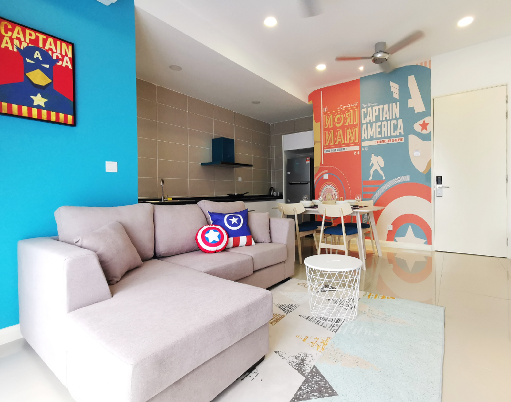 2min To LEGOLAND  Airport Pick Up  1BR 1623  T1