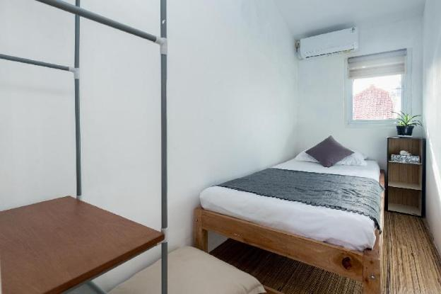 A solo traveler's room near Surfing Balangan beach