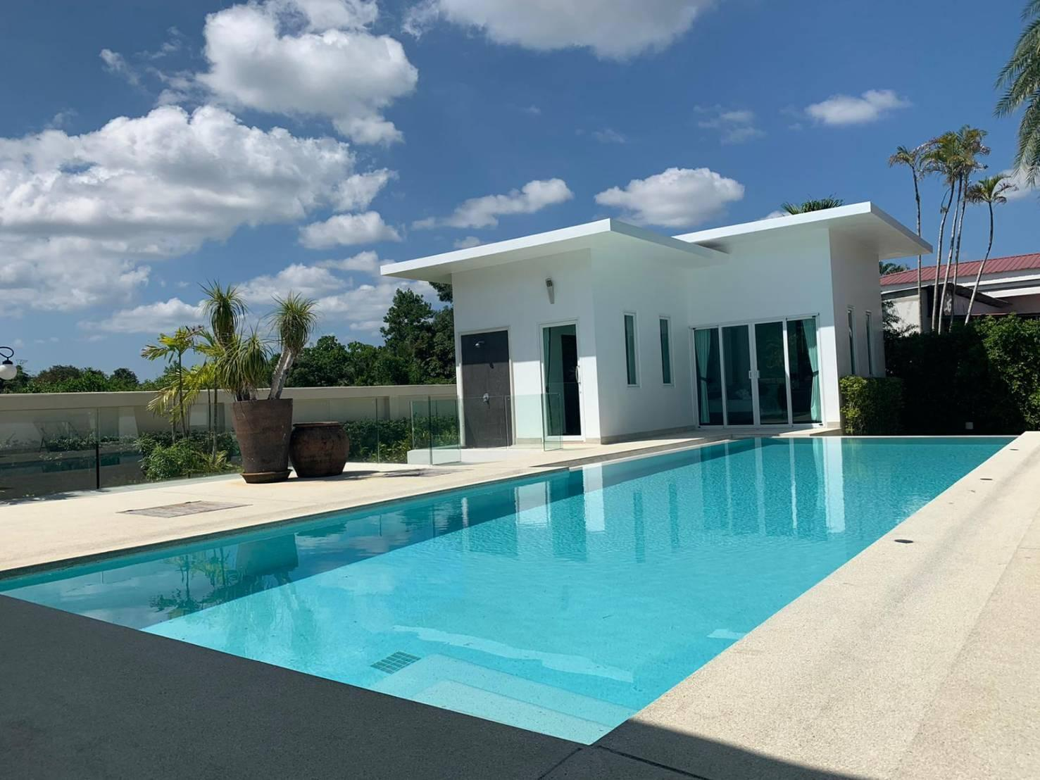 Lagoon Garden - 4 bedrooms luxury pool villa วิลลา 4 ห้องนอน 5 ห้องน้ำส่วนตัว ขนาด 400 ตร.ม. – ป่าคลอก