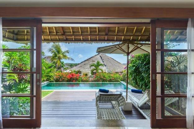 2BR Pool Villa B-fast-Spa+Gym+Sauna+Private Beach