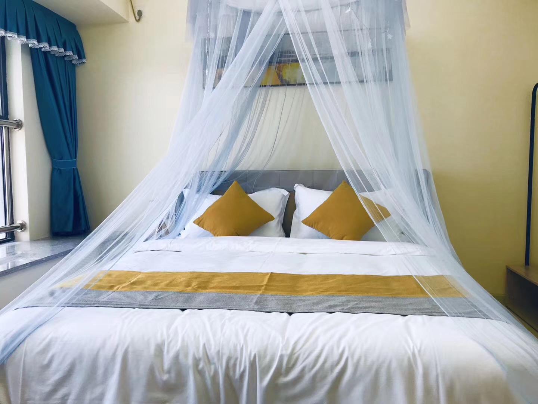 Sunac Luxury Umbrella Big Bed Room  Xiaozhao Home