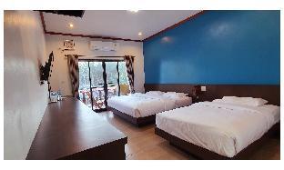 [パティオ]スタジオ アパートメント(25 m2)/1バスルーム DELUXE Hotel on the Beach-side view- Triple Rooms