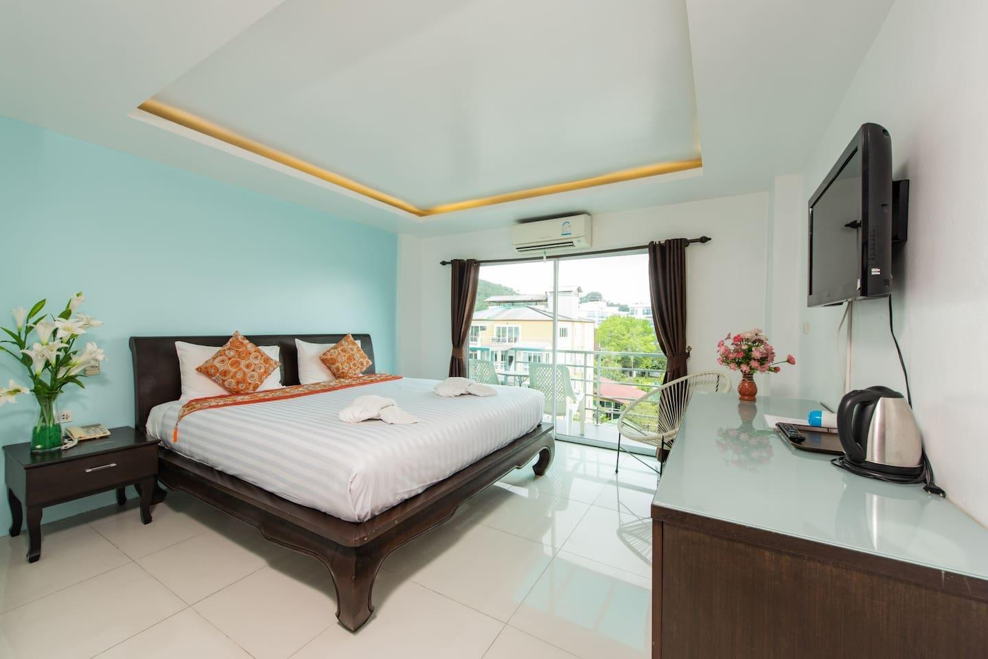 Great@Patong ' Deluxe Room'