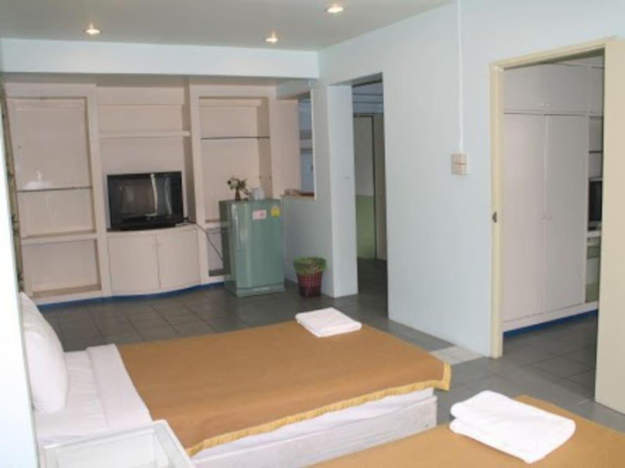 Bupatara :Junior suit 2 ห้องนอน 2 ห้องน้ำส่วนตัว ขนาด 30 ตร.ม. – เขตเมืองเก่า