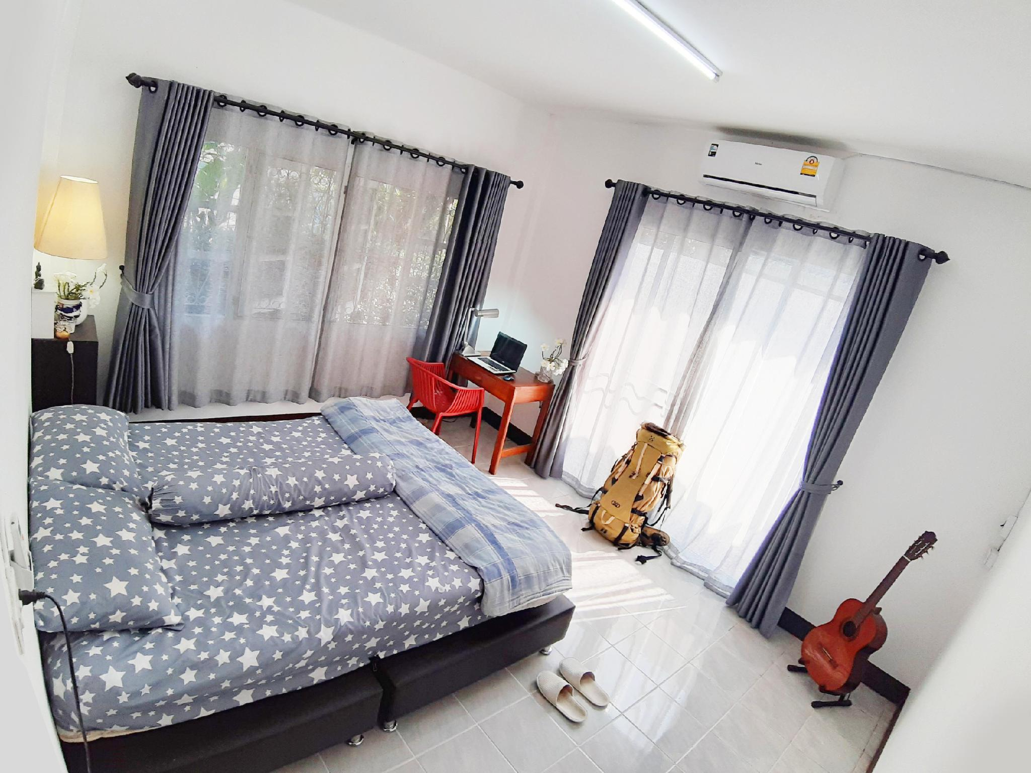 Mj House Bedroom Stay With HOST & GUEST. บ้านเดี่ยว 2 ห้องนอน 2 ห้องน้ำส่วนตัว ขนาด 370 ตร.ม. – แม่โจ้