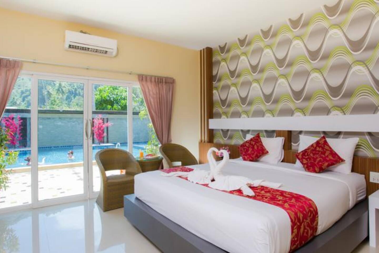 Stylish Room Beach Front, Phi Phi วิลลา 1 ห้องนอน 1 ห้องน้ำส่วนตัว ขนาด 150 ตร.ม. – อ่าวต้นไทร