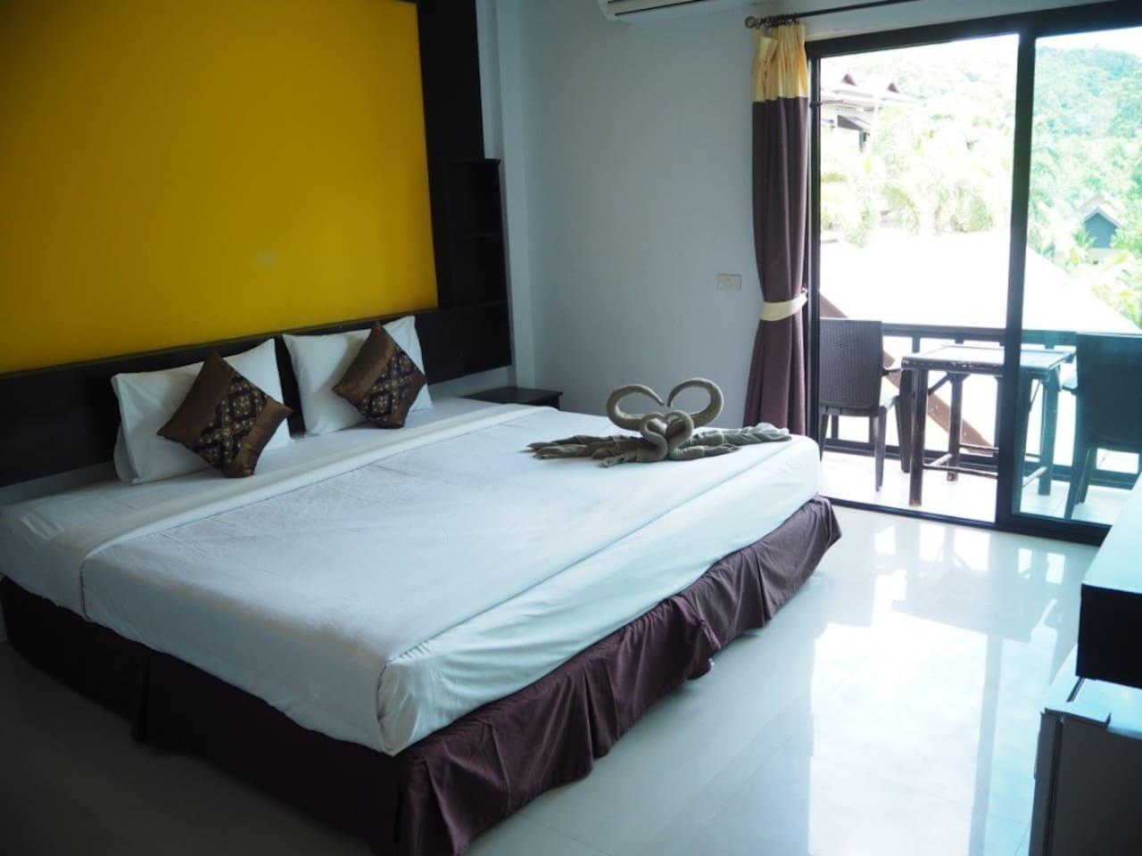 Cosy standard room near beach on Phi Phi วิลลา 1 ห้องนอน 1 ห้องน้ำส่วนตัว ขนาด 80 ตร.ม. – อ่าวต้นไทร