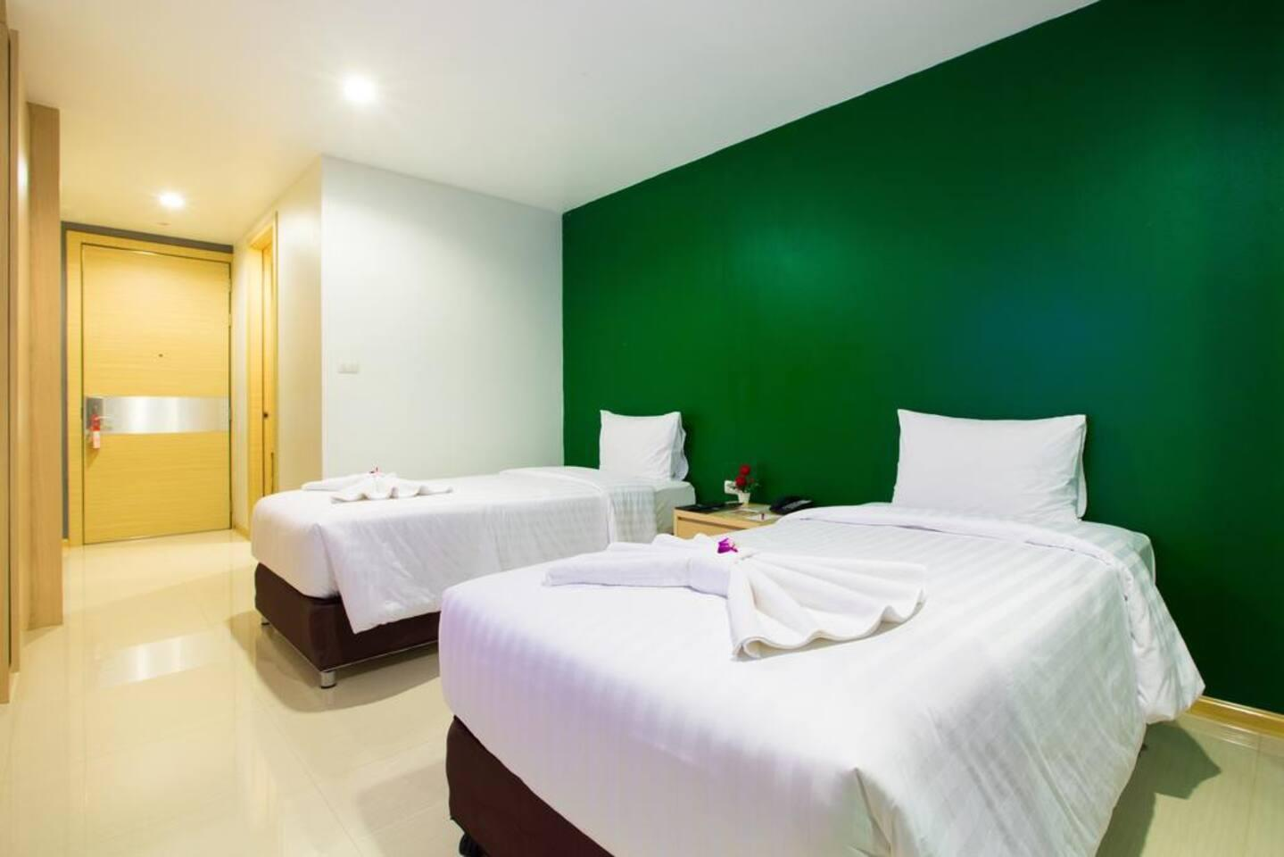 Twin Room With Kitchenette Near Koh Samui Airport