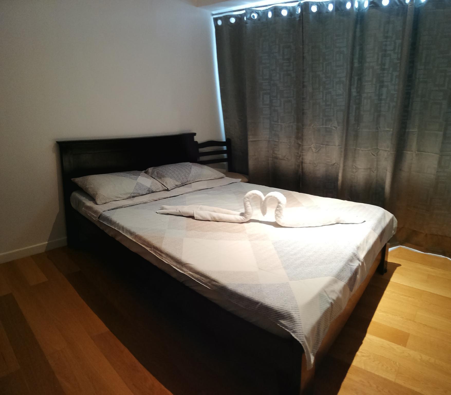 Acqua Residences. Quiet Room To Stay.