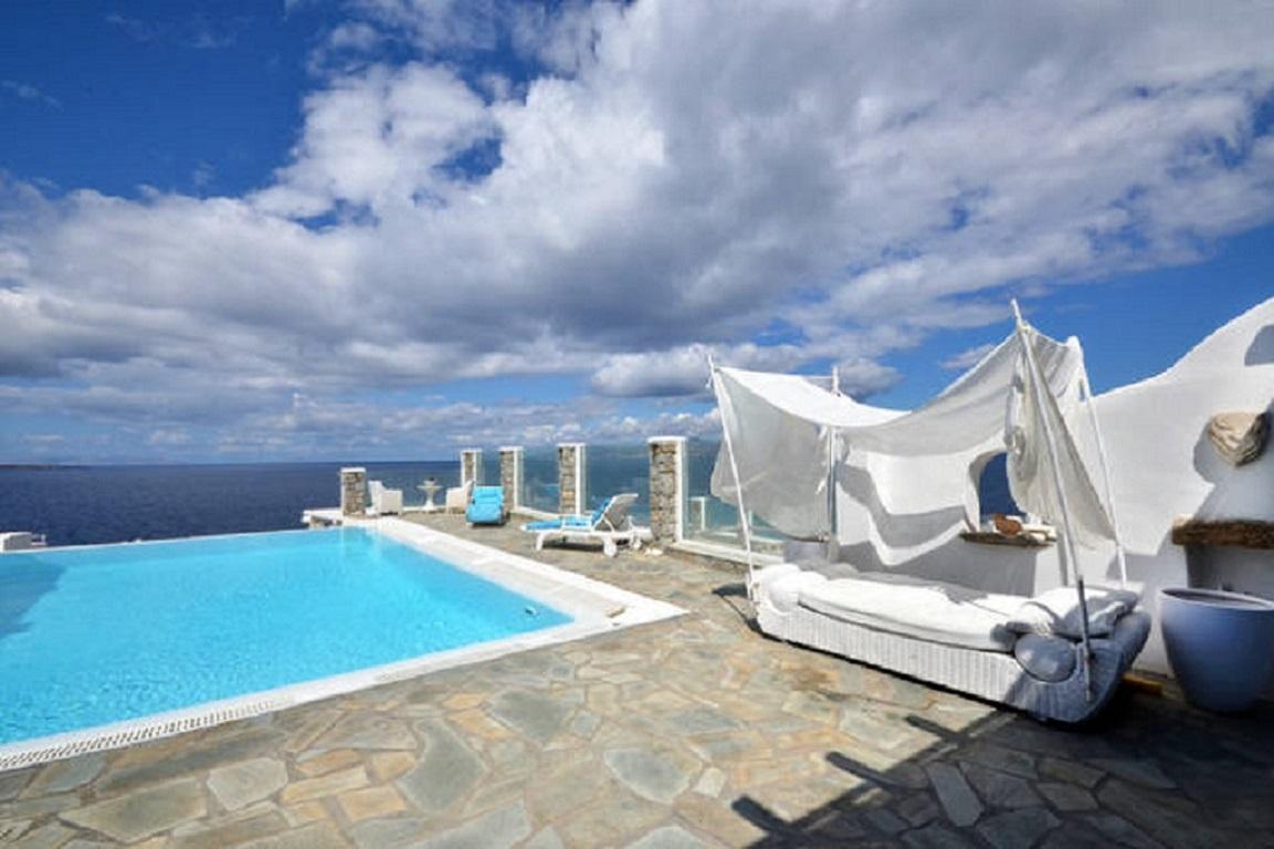 Mykonos Calypso Sunset Luxury Villa Kite Surf Yoga