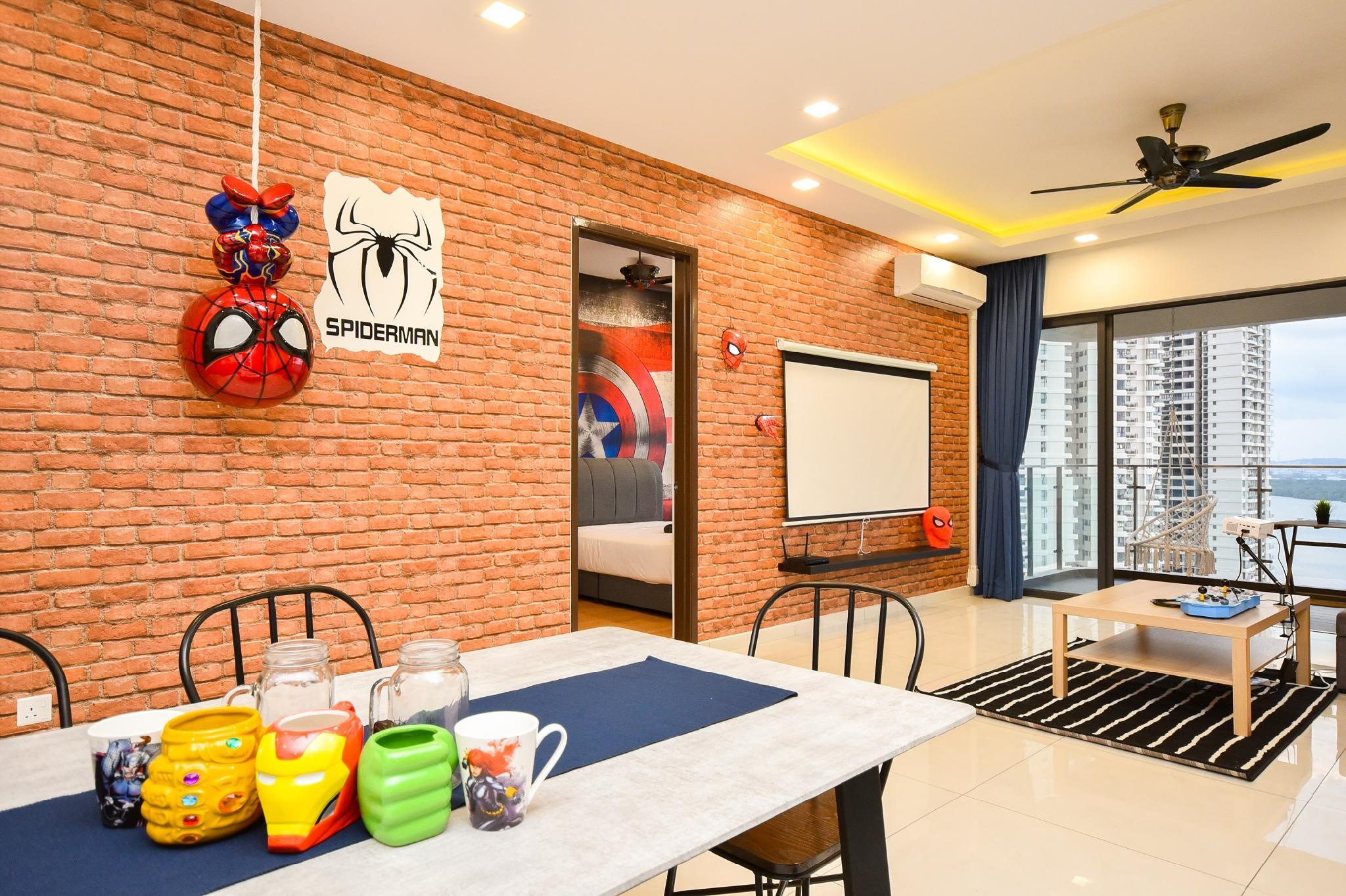 Nest Home D'Marvel Suite  Avengers And Seaview