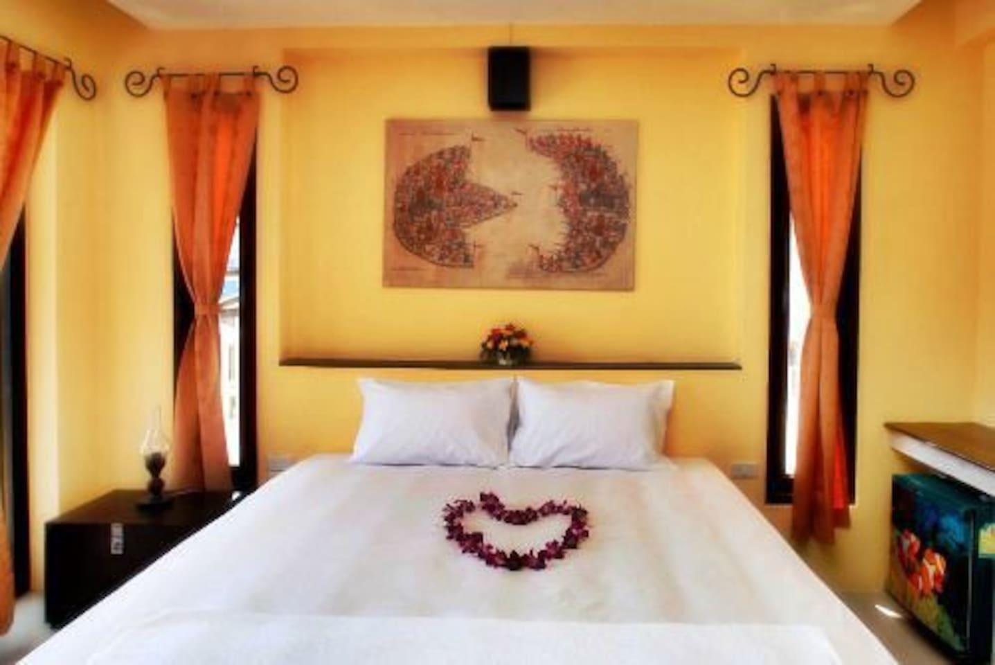 Double Room Deluxe with balcony 2 1 ห้องนอน 1 ห้องน้ำส่วนตัว ขนาด 30 ตร.ม. – หาดเฉวง