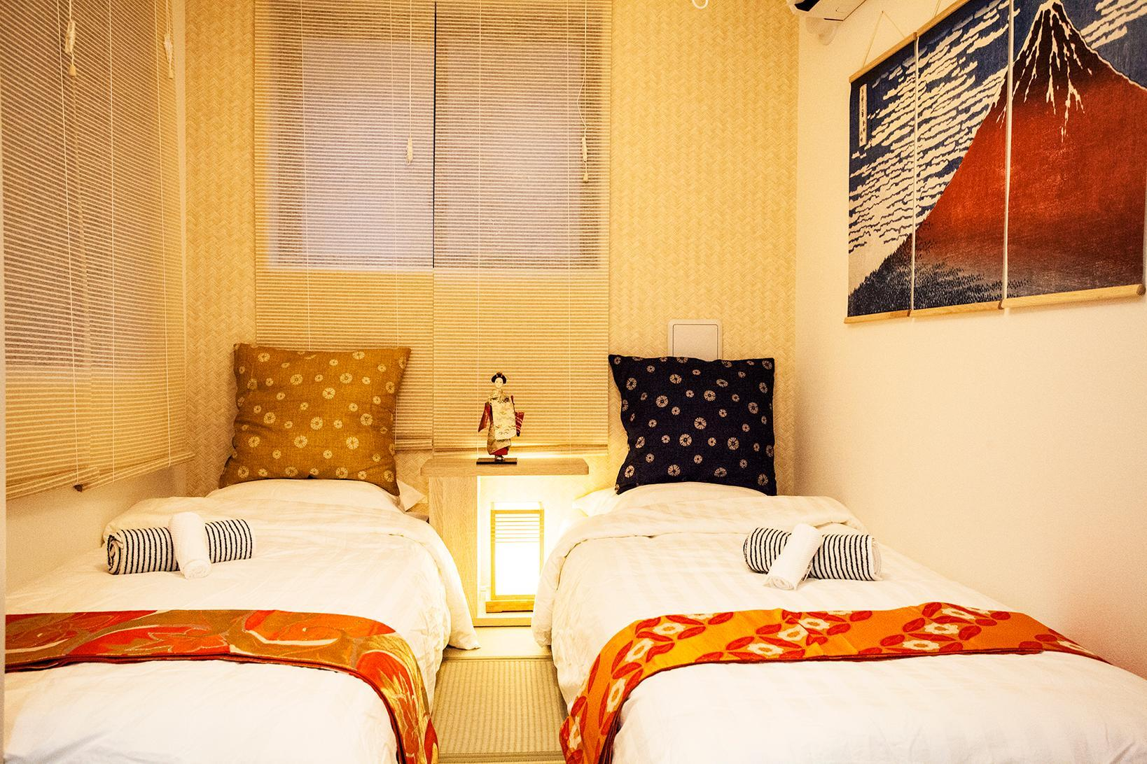 5 Min Walk To Subway Japanese Style Twin Bed R203