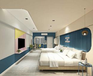 [プラトゥーナム]スタジオ アパートメント(54 m2)/1バスルーム Family Hub@Pratunam 9 - Free Airport Pickup (2Ngt)