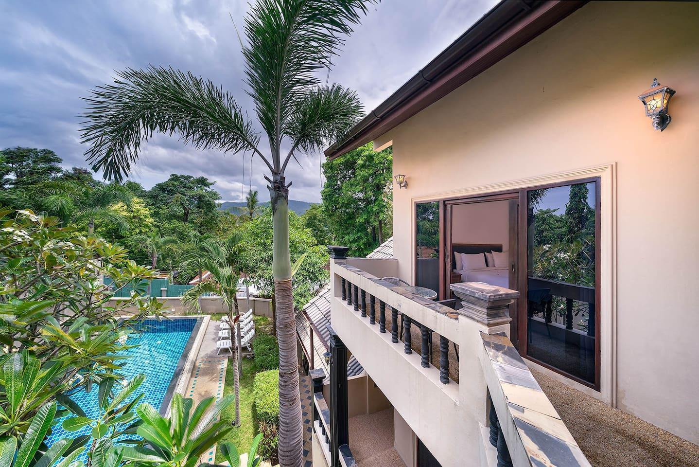 Villa Feng Shui 4 Bedrooms, 5 Bath in Chaweng Town บ้านเดี่ยว 4 ห้องนอน 5 ห้องน้ำส่วนตัว ขนาด 200 ตร.ม. – หาดเฉวง