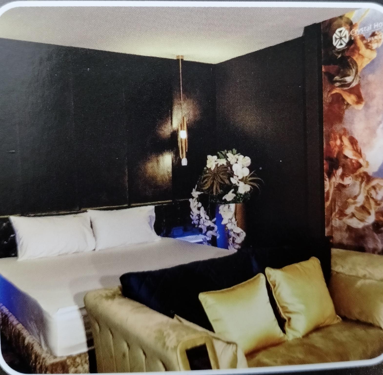 Crystal Hotel Bangkok วิลลา 1 ห้องนอน 1 ห้องน้ำส่วนตัว ขนาด 36 ตร.ม. – Ratchada