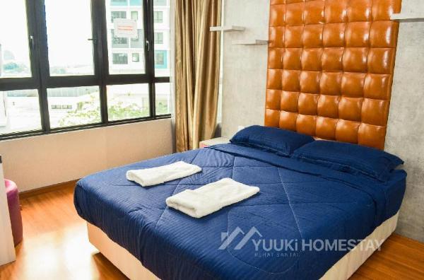 I City @ I Soho 2 BEDROOMS @Yuuki Homestay (001A) Shah Alam