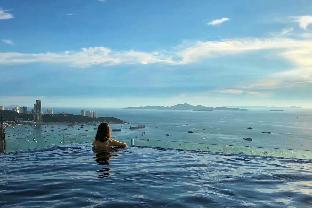 [パタヤ中心地]アパートメント(35m2)| 1ベッドルーム/1バスルーム A2 Infinity Pool impressive view 100m china town