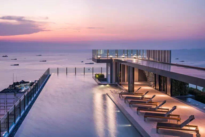 N1 attractive sky infinity pool 100m to the sea อพาร์ตเมนต์ 1 ห้องนอน 1 ห้องน้ำส่วนตัว ขนาด 34 ตร.ม. – พัทยากลาง
