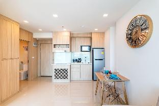 [パタヤ南部]アパートメント(60m2)| 2ベッドルーム/1バスルーム 1002 1BR CITY GARDEN TOWER 5min to WalkingStreet