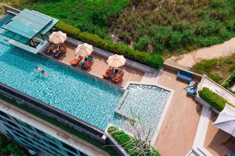 Infinity pool and gym 1 bedr at Surin and Bangtao อพาร์ตเมนต์ 1 ห้องนอน 1 ห้องน้ำส่วนตัว ขนาด 35 ตร.ม. – สุรินทร์