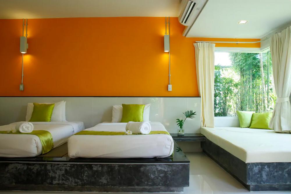Aonang Paradise Resort Deluxe Cottage5 1 ห้องนอน 1 ห้องน้ำส่วนตัว ขนาด 32 ตร.ม. – อ่าวนาง