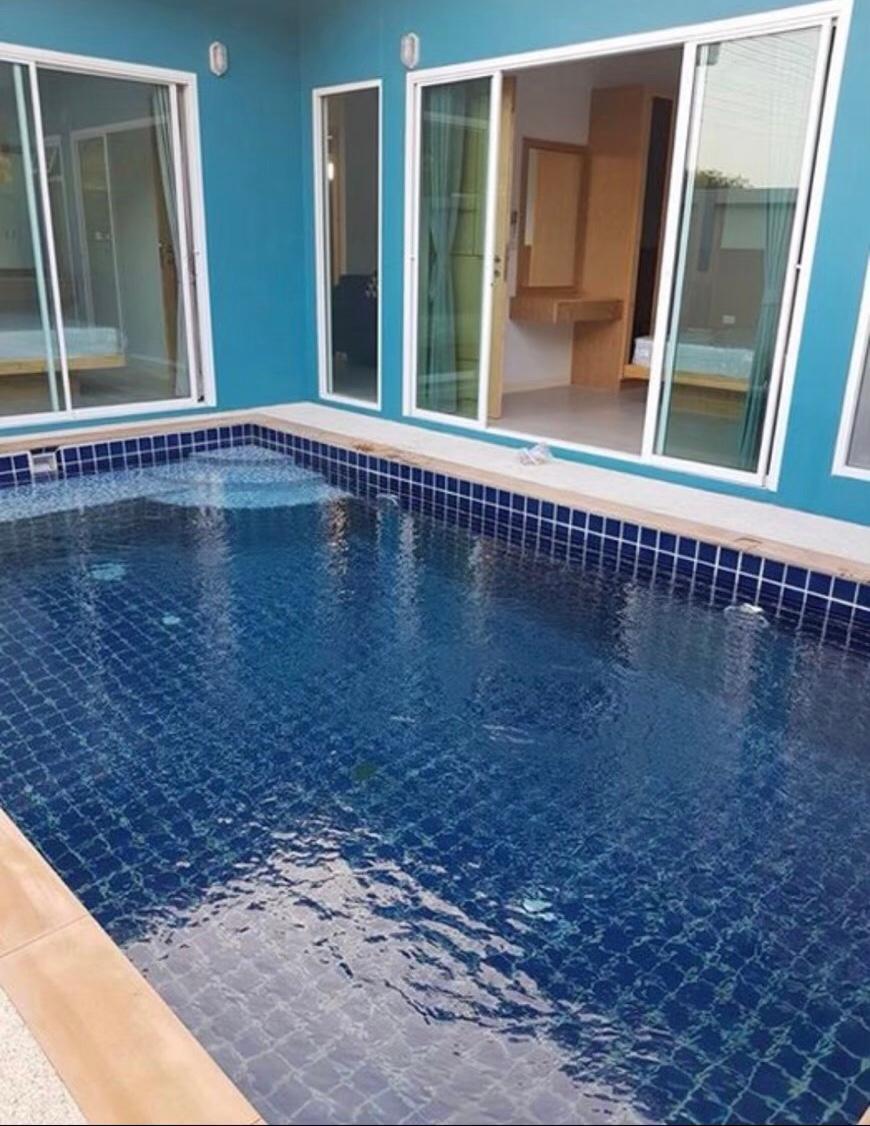 2rooms pool villa 5 mins walk to Beach บ้านเดี่ยว 2 ห้องนอน 2 ห้องน้ำส่วนตัว ขนาด 180 ตร.ม. – ป่าคลอก