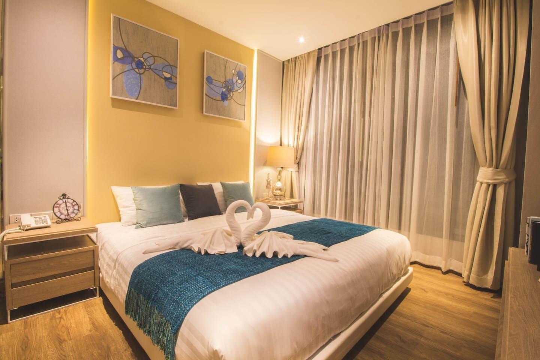 Dahla - Presidential Suite อพาร์ตเมนต์ 2 ห้องนอน 2 ห้องน้ำส่วนตัว ขนาด 40 ตร.ม. – อ่าวนาง