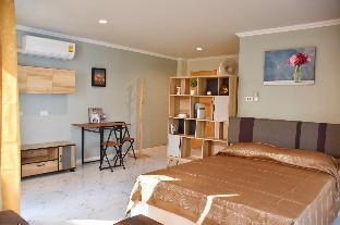 [トンブリー]スタジオ アパートメント(28 m2)/1バスルーム S&H Deluxe room #1