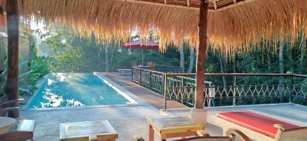 Romantic villa ubud view.Natural balinese panorama