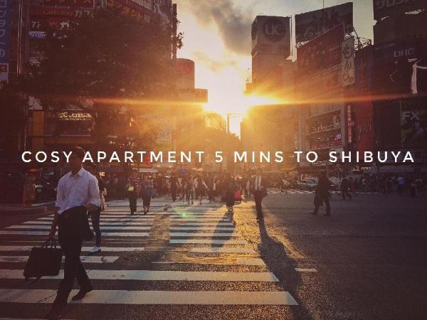 6# Cozy Studio with View 5 Mins to Shibuya Tokyo