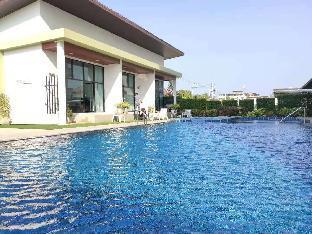 [ホアヒン市内中心地]ヴィラ(100m2)| 2ベッドルーム/1バスルーム Happiness Pool Villa (Walk To Beach)