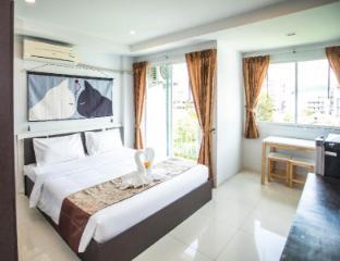 [パトン]アパートメント(30m2)| 1ベッドルーム/1バスルーム Deluxe double room mountain-view terrace pool304