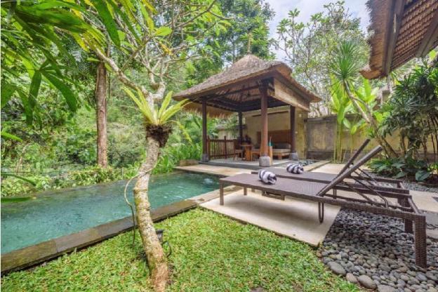 1 BR luxury pool villa romantic  L Ubud