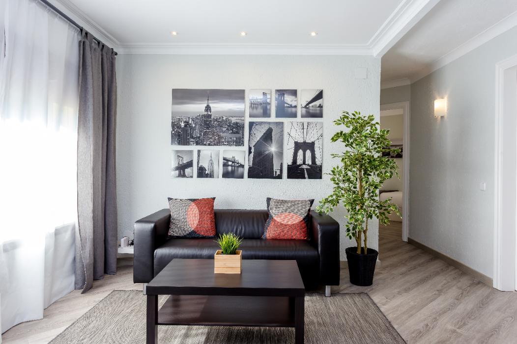 METROPOLITAN Joyful and fresh flat