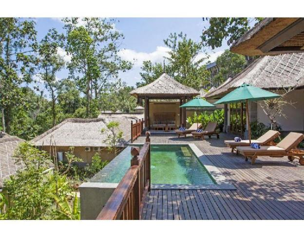 2BR Traditional Balinese, a private infinity pool,