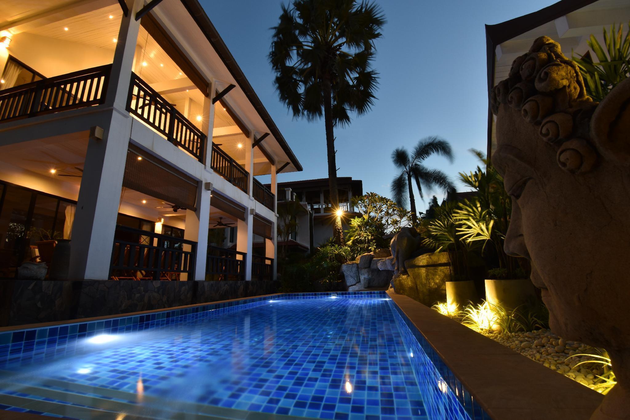 Spacious pool villa - Malee Beach Villa B4 วิลลา 4 ห้องนอน 3 ห้องน้ำส่วนตัว ขนาด 210 ตร.ม. – หาดพระแอะ