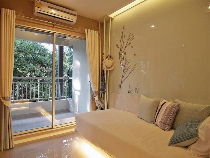 Two bedroom apartment jomtien beach อพาร์ตเมนต์ 2 ห้องนอน 2 ห้องน้ำส่วนตัว ขนาด 57 ตร.ม. – หาดจอมเทียน