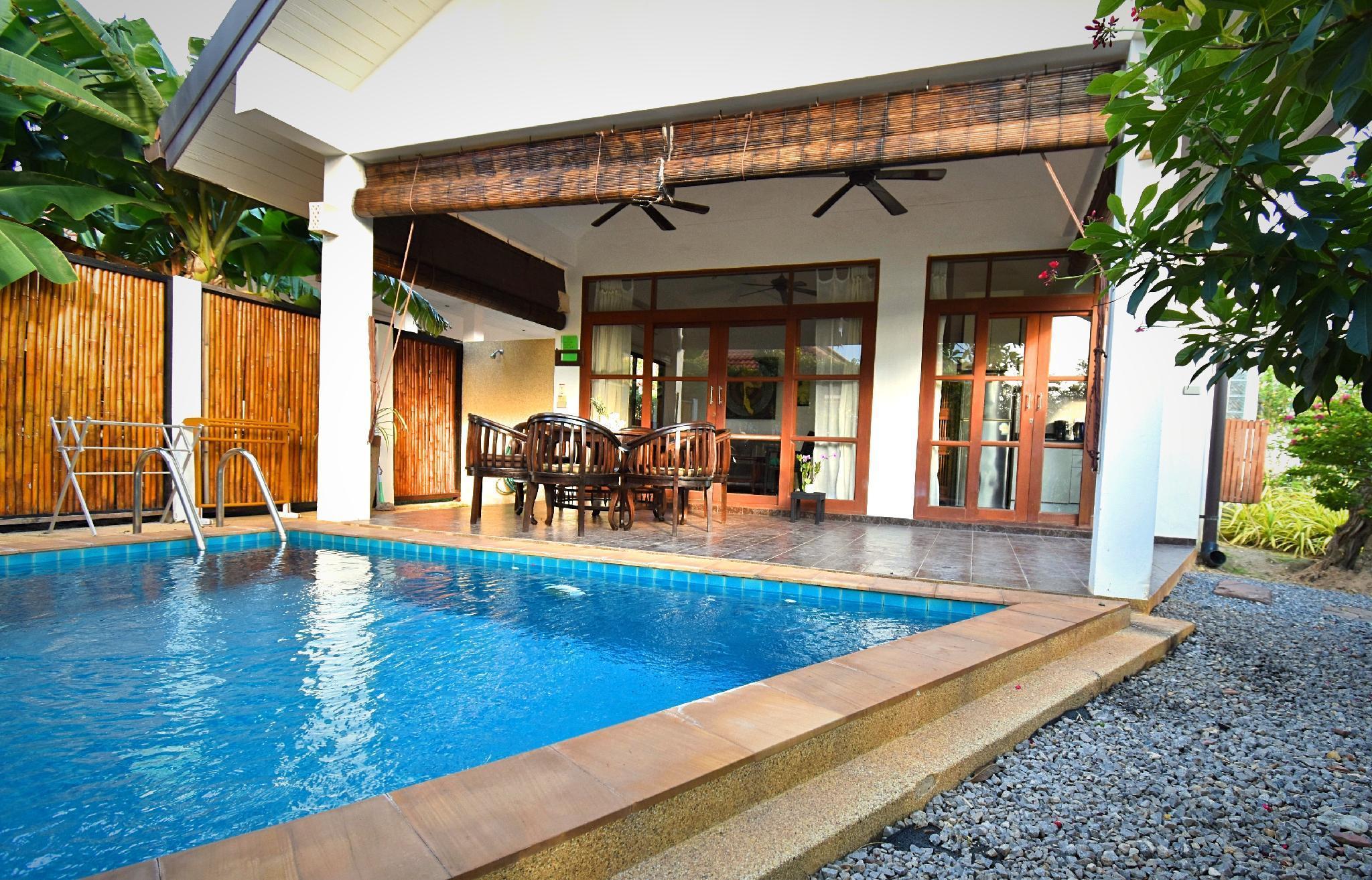 Cozy pool villa - Malee Beach Villa C4 วิลลา 2 ห้องนอน 1 ห้องน้ำส่วนตัว ขนาด 56 ตร.ม. – หาดพระแอะ