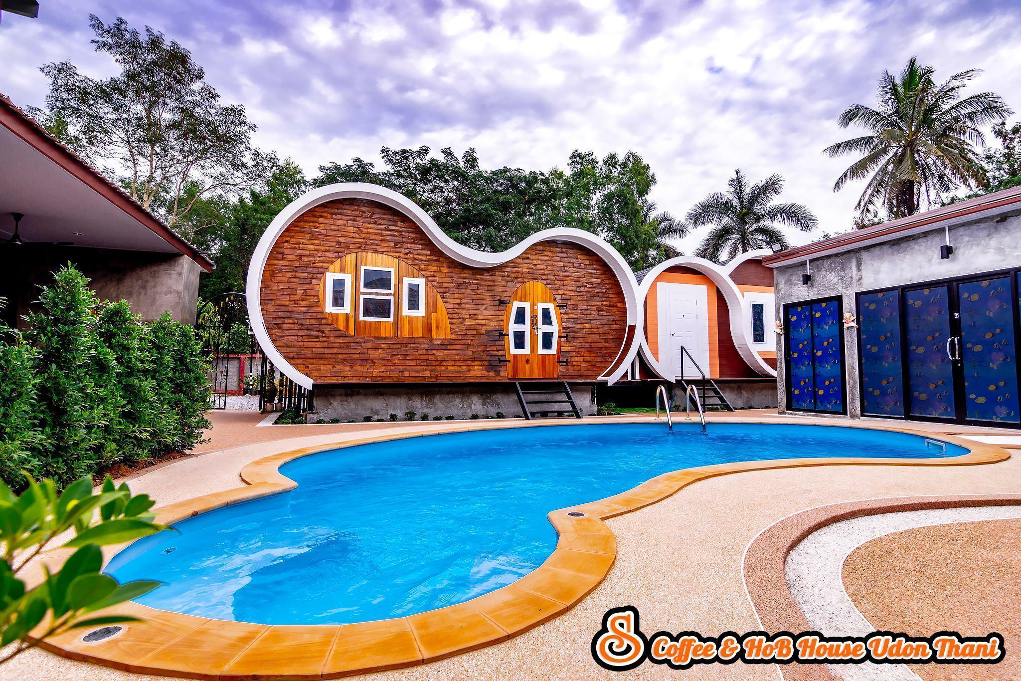 S Coffee & HoB House Udon Thani วิลลา 1 ห้องนอน 8 ห้องน้ำส่วนตัว ขนาด 4 ตร.ม. – อำเภอเมือง
