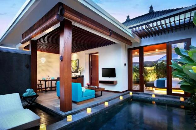 Amazing 1BR Private Pool Villa in Dewi Sri Kuta