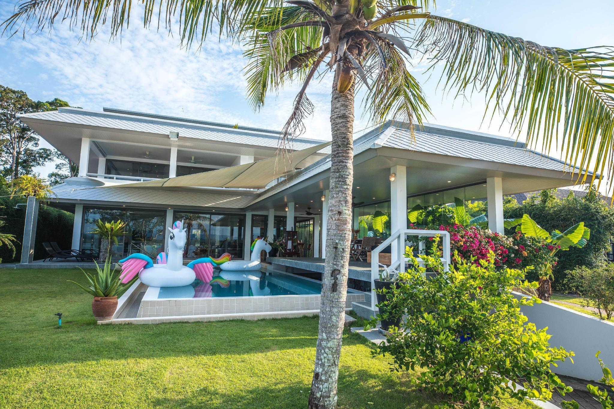 MaiKhao Beach   Private Villa with Two Pools วิลลา 7 ห้องนอน 9 ห้องน้ำส่วนตัว ขนาด 1300 ตร.ม. – ไม้ขาว
