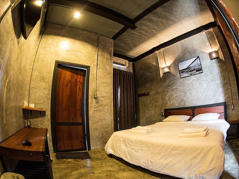 Sangkhla Kiri Resort B1 สตูดิโอ อพาร์ตเมนต์ 1 ห้องน้ำส่วนตัว ขนาด 28 ตร.ม. – สังขละบุรี
