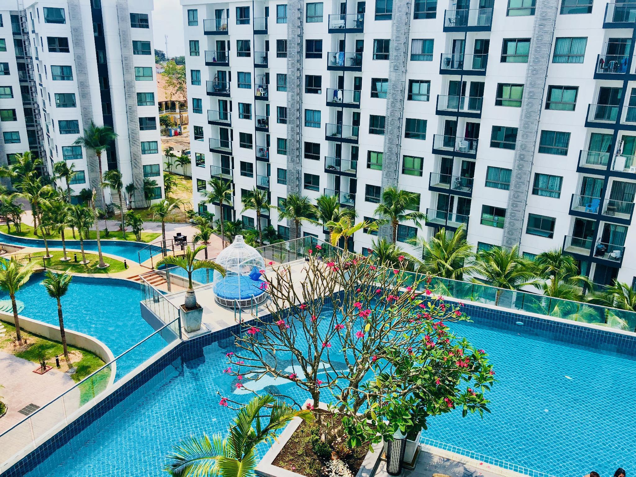 MayFlower@Arcadia Beach Resort Condominium อพาร์ตเมนต์ 1 ห้องนอน 1 ห้องน้ำส่วนตัว ขนาด 33 ตร.ม. – เขาพระตำหนัก