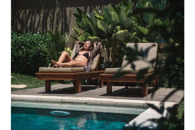 Honeymoon Suite Pool Villa ubud N - Breakfast