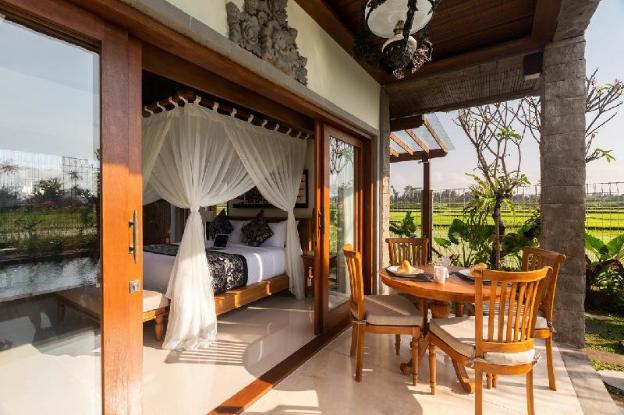 2 BDR Villa with Rice Field View in UBUD